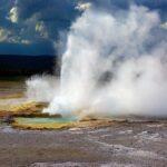 clepsydra geyser, lower, geyser